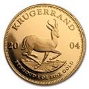 2004 South Africa 1 oz Proof Gold Krugerrand