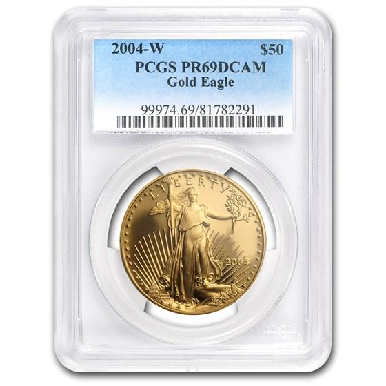 2004-W 1 oz Proof American Gold Eagle PR-69 PCGS