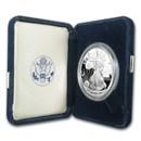 2004-W 1 oz Proof American Silver Eagle (w/Box & COA)