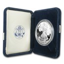 2004-W 1 oz Proof Silver American Eagle (w/Box & COA)