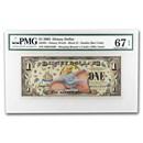 2005 $1.00 Disney Dollar 50th Anniversary Dumbo Gem CU-67 EPQ PMG