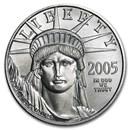 2005 1/2 oz American Platinum Eagle BU