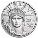 2005 1/4 oz American Platinum Eagle BU