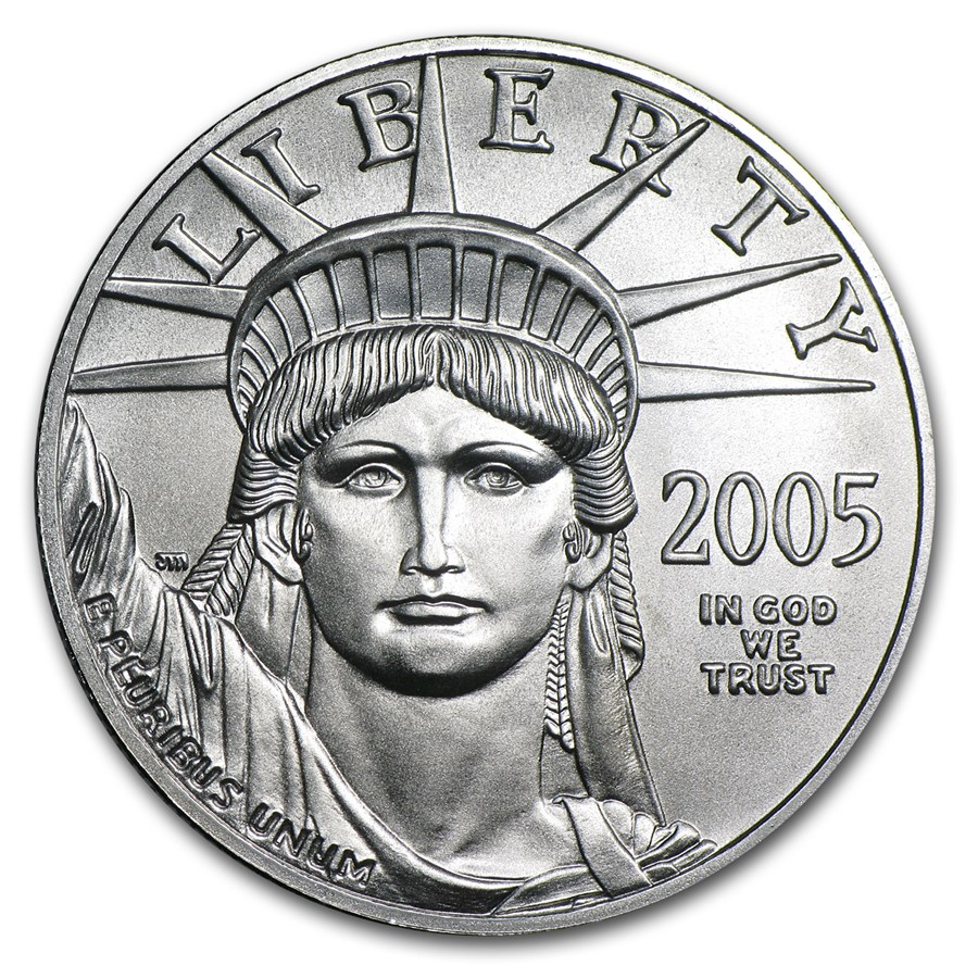 2005 1 oz American Platinum Eagle BU