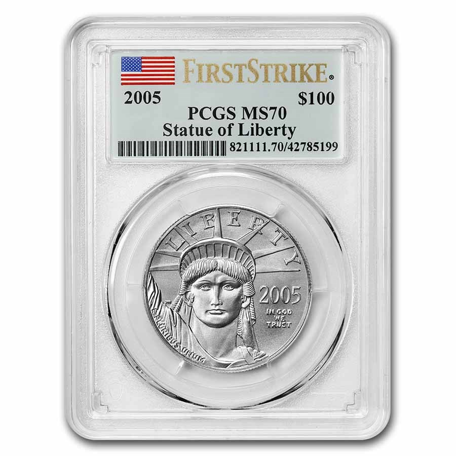 2005 1 oz American Platinum Eagle MS-70 PCGS (FirstStrike®)
