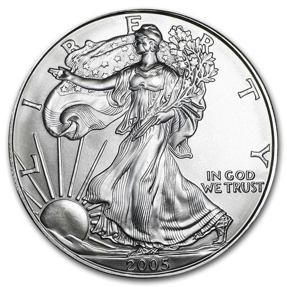 2005 1 oz American Silver Eagle BU