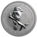 2005 Australia 2 oz Silver Kookaburra BU