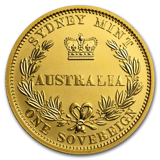 2005 Australia Gold $25 Proof Sovereign Elizabeth II