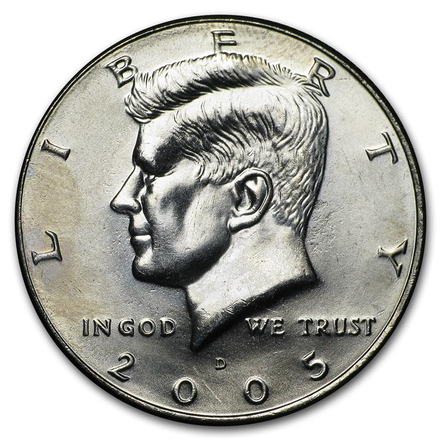2005-D Kennedy Half Dollar BU
