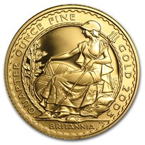 2005 Great Britain 1/4 oz Proof Gold Britannia