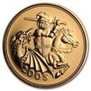 2005 Great Britain Gold Sovereign BU
