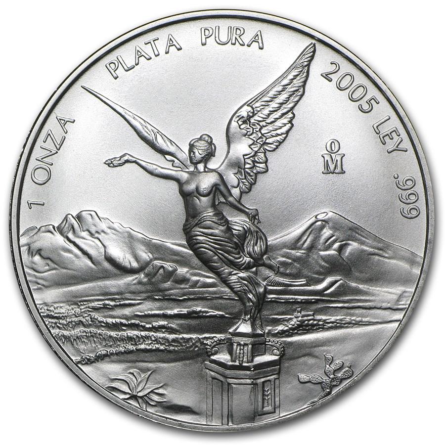 2005 Mexico 1 oz Silver Libertad BU