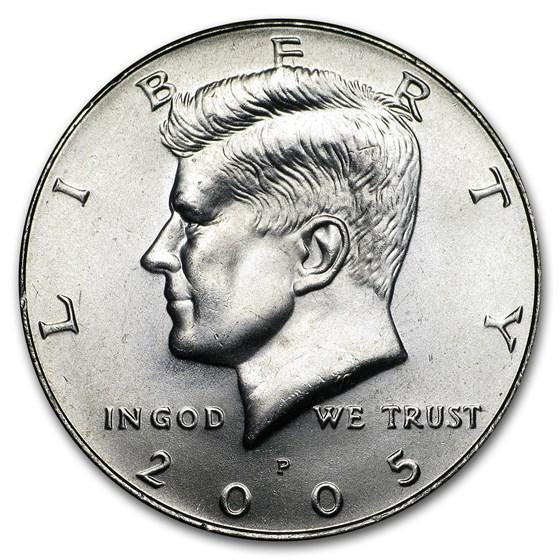 2005-P Kennedy Half Dollar BU