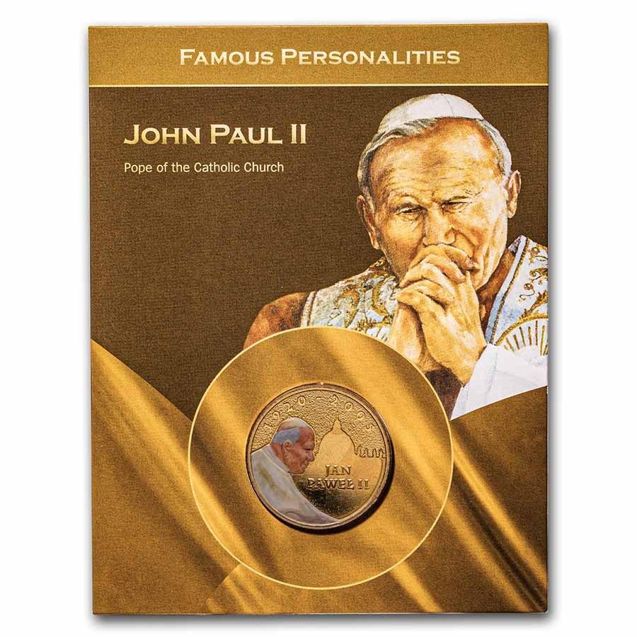 2005 Poland Pope John Paul II 2 Zlote Blistercard BU