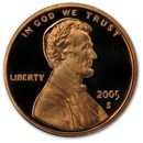 2005-S Lincoln Cent Gem Proof (Red)