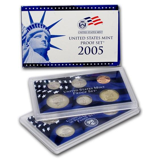 2005-S U.S. Proof Set