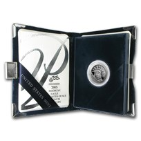 2005-W 1/4 oz Proof American Platinum Eagle (w/Box & COA)