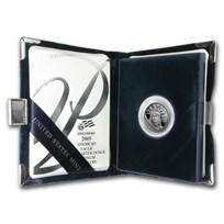 2005-W 1/4 oz Proof American Platinum Eagle (w/Box & COA)