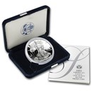 2005-W 1 oz Proof Silver American Eagle (w/Box & COA)