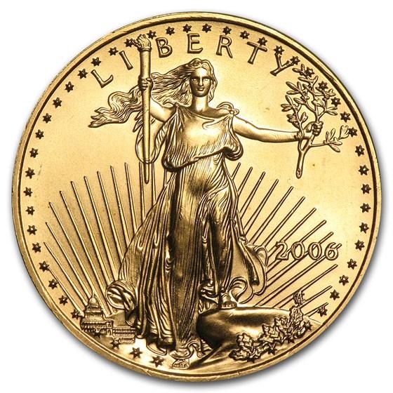 2006 1/2 oz American Gold Eagle BU