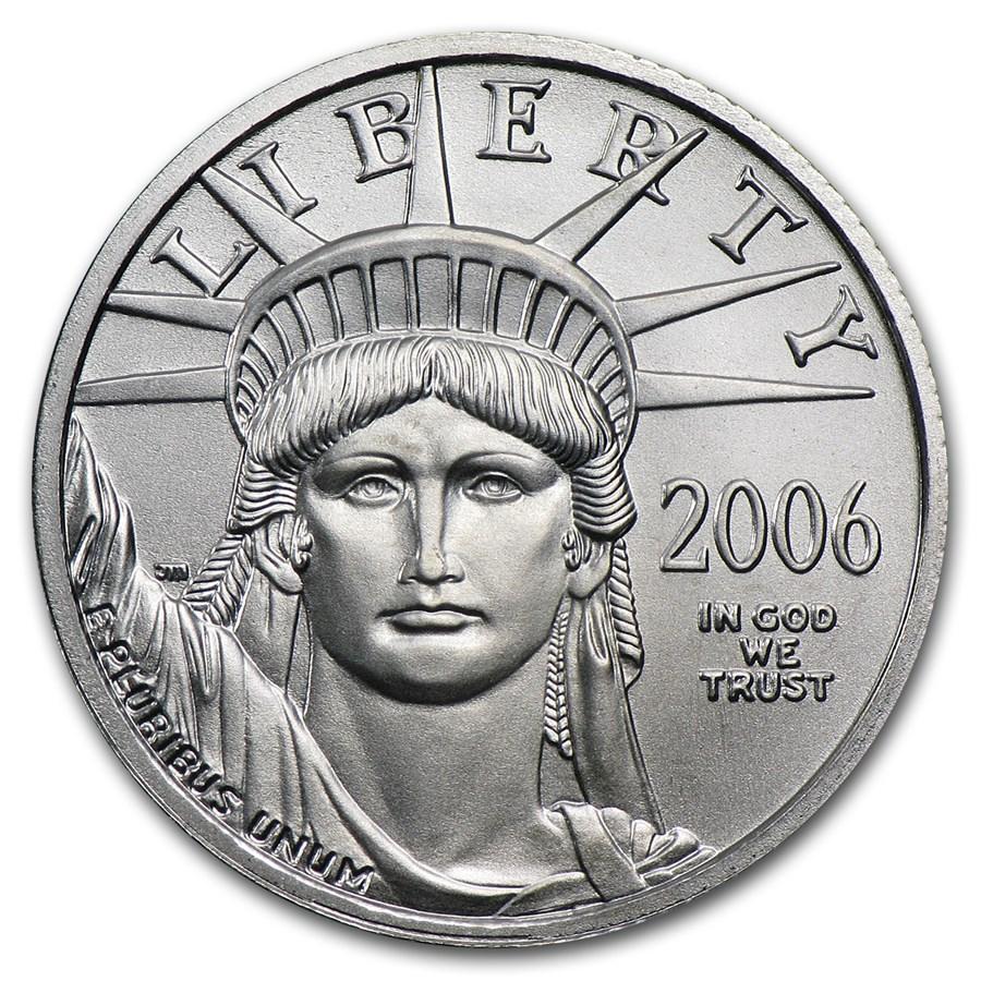 2006 1/4 oz American Platinum Eagle BU