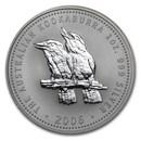 2006 Australia 1 oz Silver Kookaburra BU
