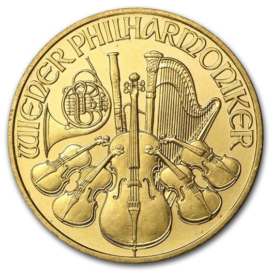 2006 Austria 1/4 oz Gold Philharmonic BU