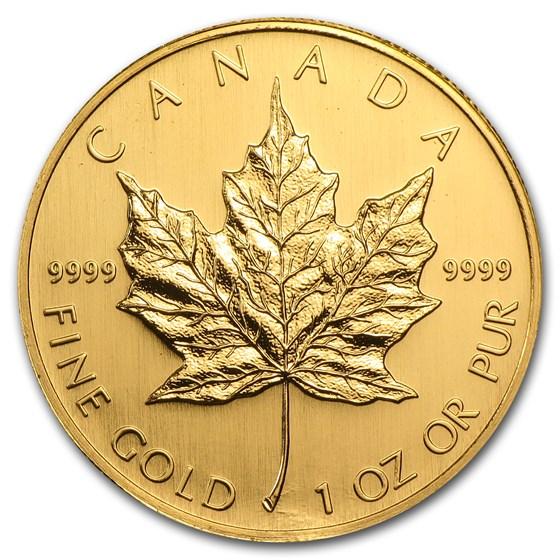 2006 Canada 1 oz Gold Maple Leaf BU