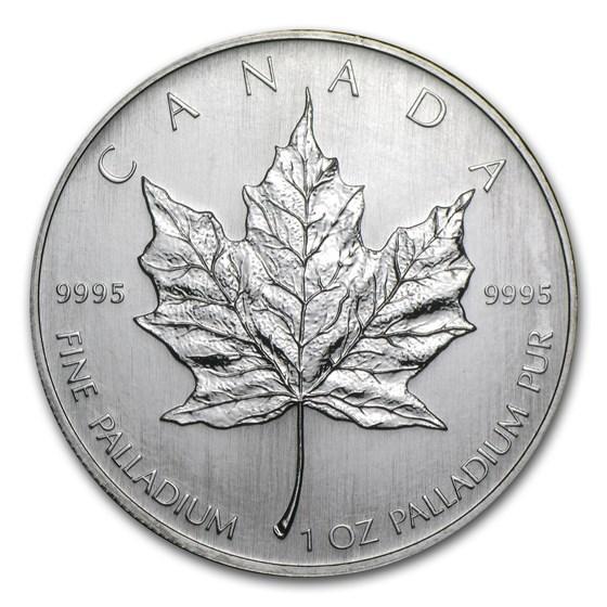 2006 Canada 1 oz Palladium Maple Leaf BU