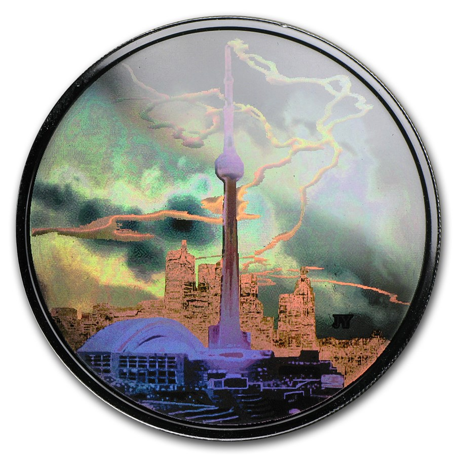 2006 Canada 1 oz Silver $20 Architectural Series (CN Tower)