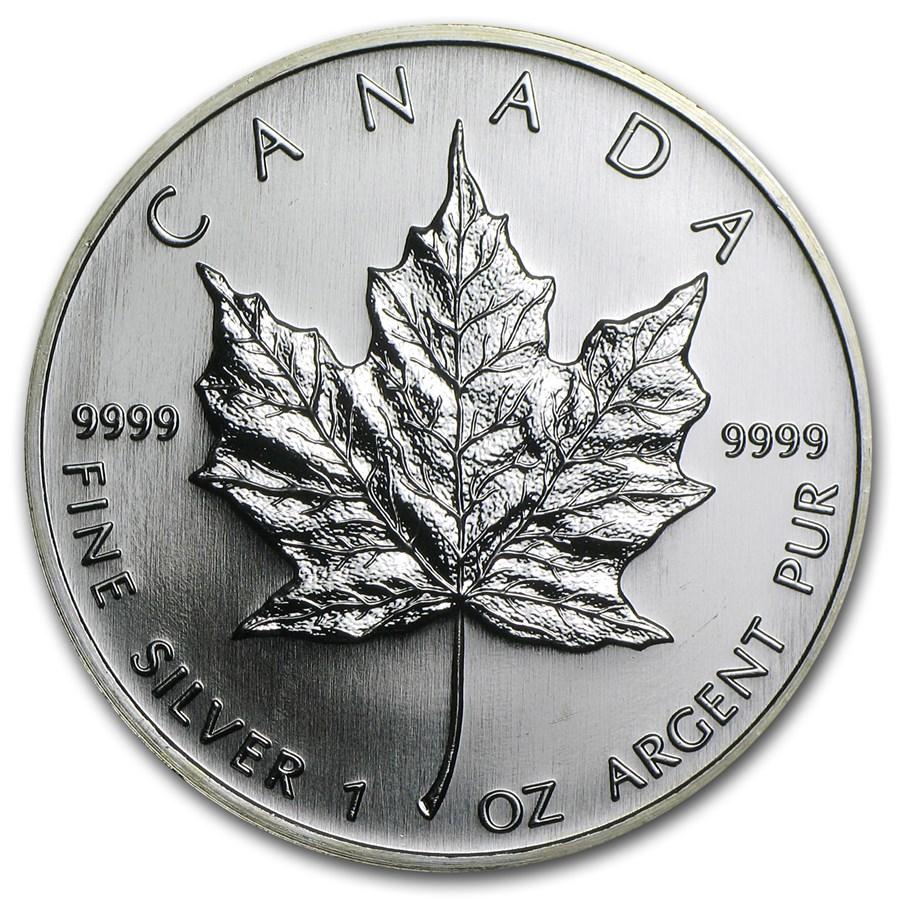 2006 Canada 1 oz Silver Maple Leaf BU