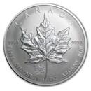 2006 Canada 1 oz Silver Maple Leaf Lunar Dog Privy