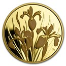 2006 Canada Gold $350 Iris Versicolor .99999 Proof (Coin Only)