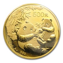 2006 China 1 oz Gold Panda BU (Sealed)