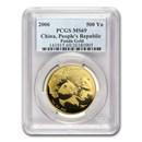2006 China 1 oz Gold Panda MS-69 PCGS