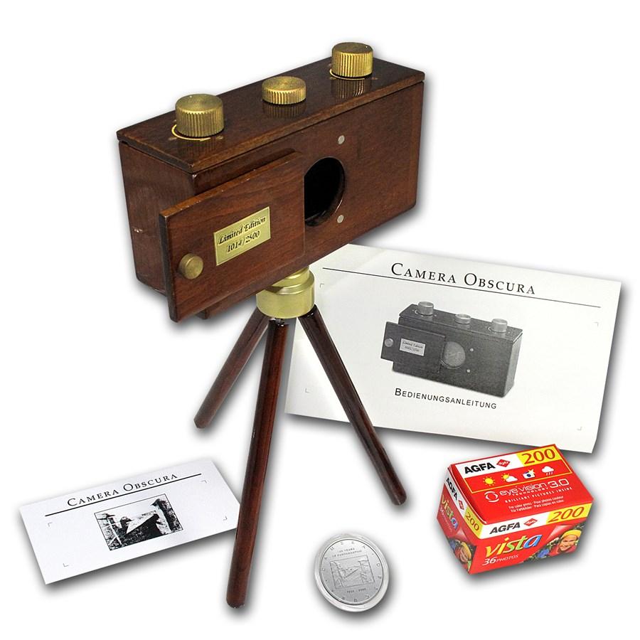 2006 Cook Islands Silver $2 Camera Obscura