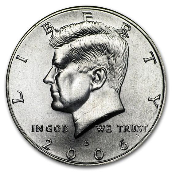 2006-D Kennedy Half Dollar BU