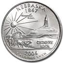 2006-D Nebraska State Quarter BU