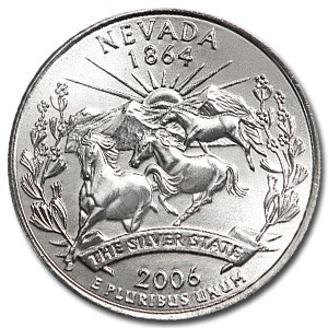 2006-D Nevada State Quarter BU