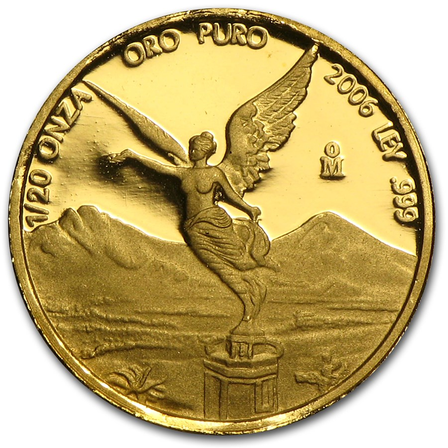2006 Mexico 1/20 oz Proof Gold Libertad
