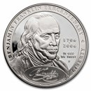 2006-P Ben Franklin Founding Father $1 Silver Commem PF (Capsule)