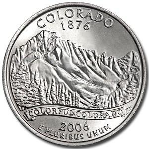2006-P Colorado State Quarter BU