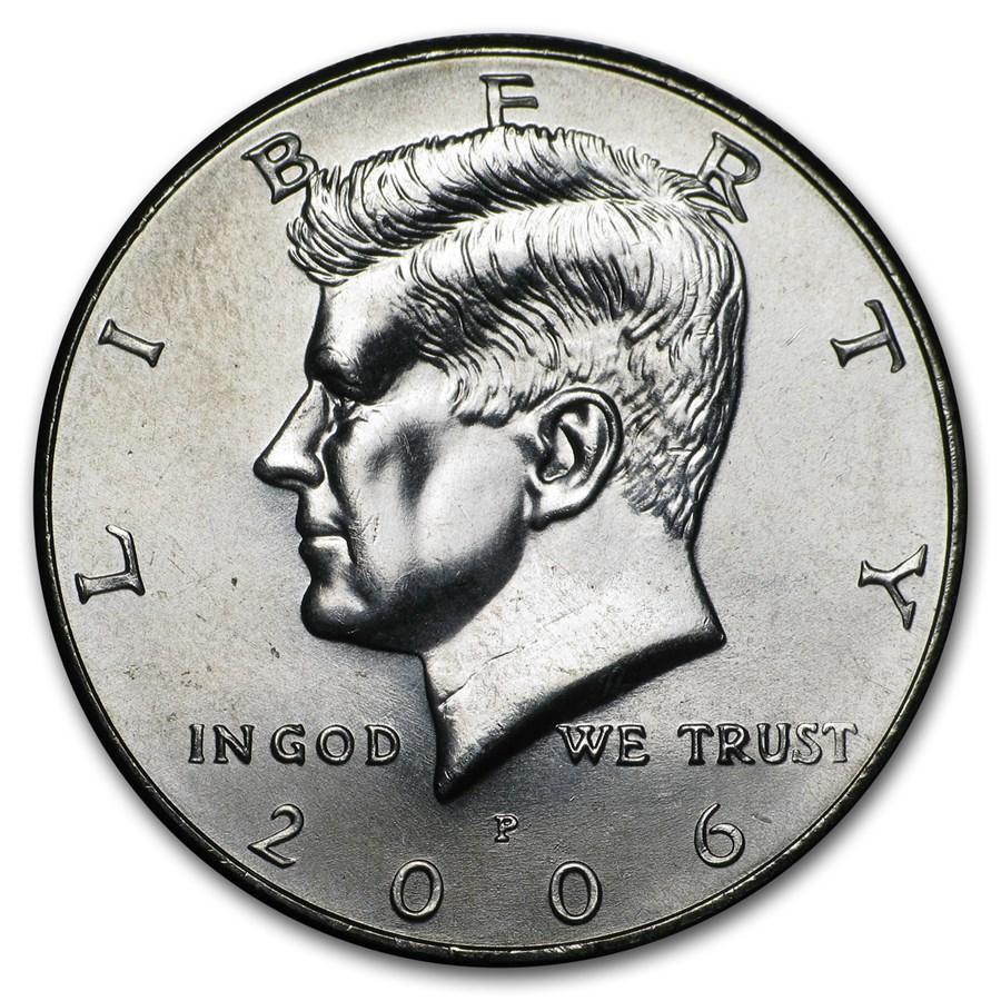 2006-P Kennedy Half Dollar BU