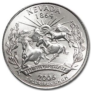 2006-P Nevada State Quarter BU