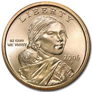 2006-P Sacagawea Dollar BU