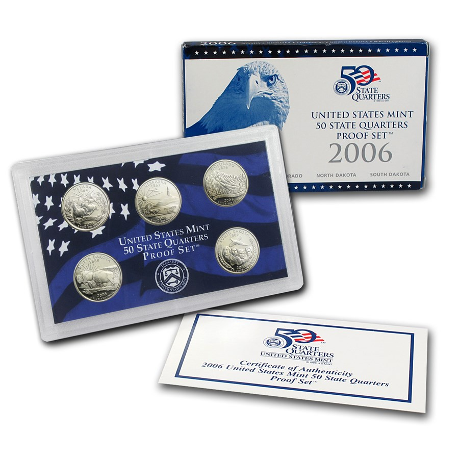 2006-S 50 State Quarters Proof Set