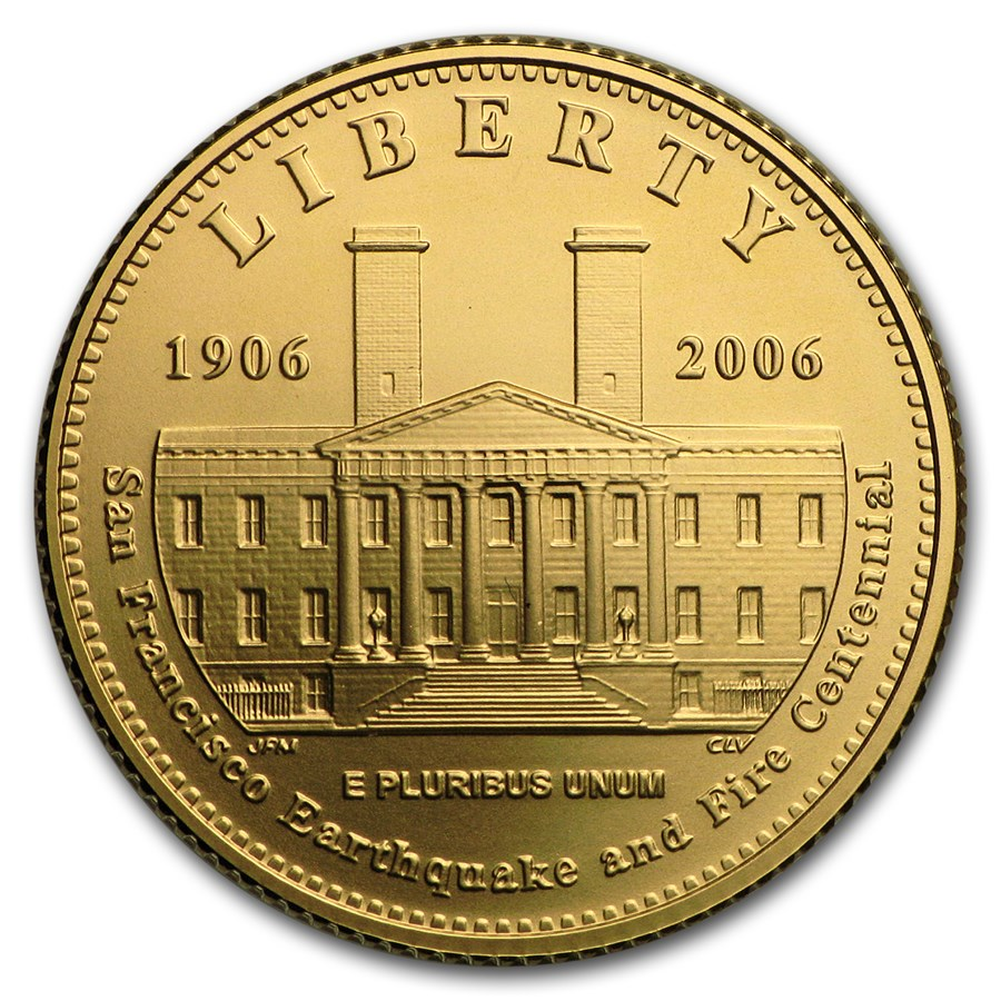 2006-S Gold $5 Commem San Francisco Old Mint BU (w/Box & COA)