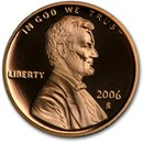 2006-S Lincoln Cent Gem Proof (Red)
