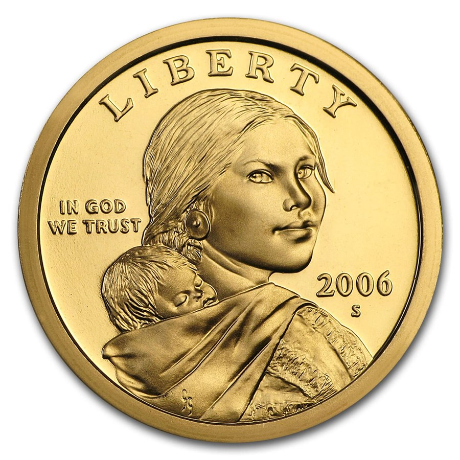 2006-S Sacagawea Dollar Gem Proof