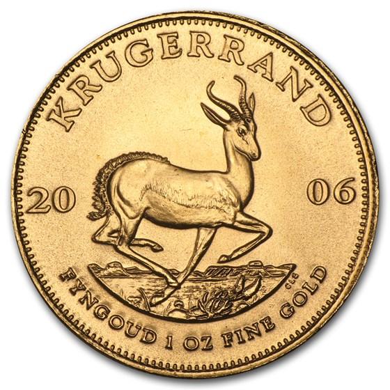 2006 South Africa 1 oz Gold Krugerrand BU